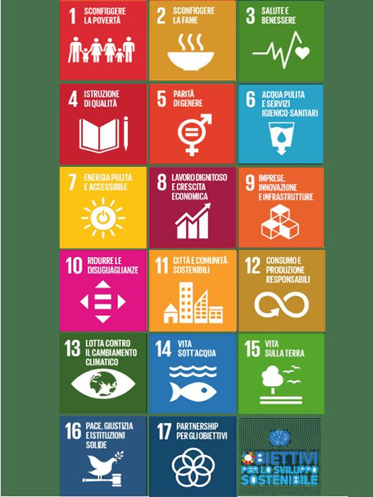 17 obiettivi dello sviluppo sostenibile
